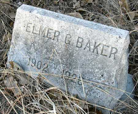 BAKER, ELMER G - Jasper County, Missouri | ELMER G BAKER - Missouri Gravestone Photos