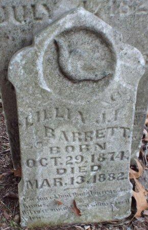 BARRETT, LILLIA JANE FISHER - Jasper County, Missouri | LILLIA JANE FISHER BARRETT - Missouri Gravestone Photos