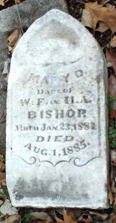 BISHOP, MARY D - Jasper County, Missouri | MARY D BISHOP - Missouri Gravestone Photos