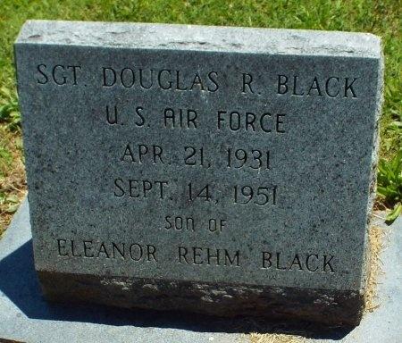 BLACK, DOUGLAS R (VETERAN) - Jasper County, Missouri | DOUGLAS R (VETERAN) BLACK - Missouri Gravestone Photos