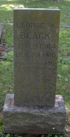 BLACK, GEORGE WILLIAM - Jasper County, Missouri | GEORGE WILLIAM BLACK - Missouri Gravestone Photos