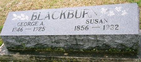 BLACKBURN, MARY SUSAN - Jasper County, Missouri   MARY SUSAN BLACKBURN - Missouri Gravestone Photos