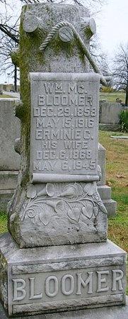 BLOOMER, ERMINIE CLAIRE - Jasper County, Missouri | ERMINIE CLAIRE BLOOMER - Missouri Gravestone Photos