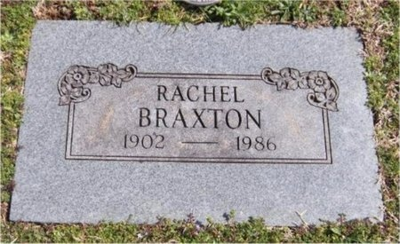 BRAXTON, RACHEL - Jasper County, Missouri   RACHEL BRAXTON - Missouri Gravestone Photos