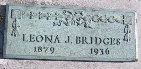 BRIDGES, LEONA JANE - Jasper County, Missouri | LEONA JANE BRIDGES - Missouri Gravestone Photos