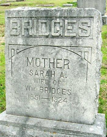 BRIDGES, SARAH A. - Jasper County, Missouri | SARAH A. BRIDGES - Missouri Gravestone Photos