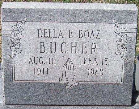 BOAZ BUCHER, ODELL ELIZA - Jasper County, Missouri | ODELL ELIZA BOAZ BUCHER - Missouri Gravestone Photos
