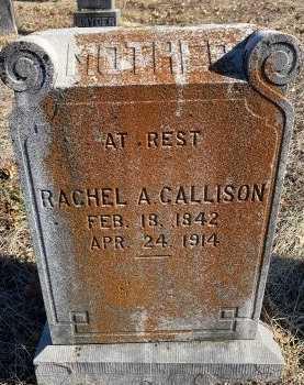 NORVELL CALLISON, RACHEL A. - Jasper County, Missouri | RACHEL A. NORVELL CALLISON - Missouri Gravestone Photos