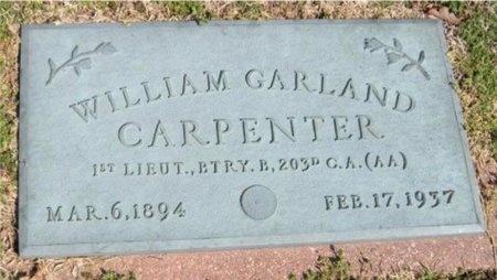 CARPENTER, WILLIAM GARLAND (VETERAN) - Jasper County, Missouri | WILLIAM GARLAND (VETERAN) CARPENTER - Missouri Gravestone Photos