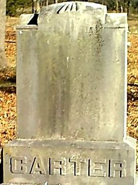 CARTER, JULIANA - Jasper County, Missouri | JULIANA CARTER - Missouri Gravestone Photos