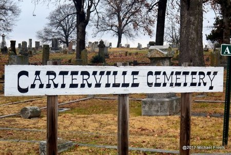 *CARTERVILLE CEMETERY SIGN, . - Jasper County, Missouri | . *CARTERVILLE CEMETERY SIGN - Missouri Gravestone Photos
