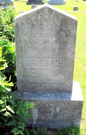 CAUGHENBAUGH, GEORGE W - Jasper County, Missouri | GEORGE W CAUGHENBAUGH - Missouri Gravestone Photos