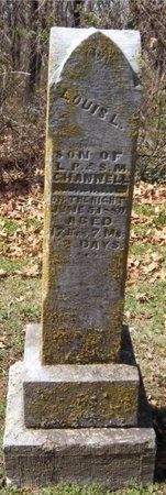 CHANNELL, LOUIS L - Jasper County, Missouri   LOUIS L CHANNELL - Missouri Gravestone Photos