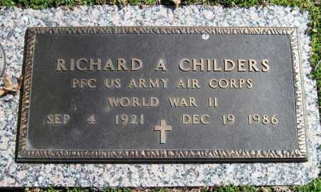 CHILDERS, RICHARD A VETERAN WWII - Jasper County, Missouri | RICHARD A VETERAN WWII CHILDERS - Missouri Gravestone Photos