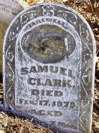 "CLARK, SAMUEL JOSEPH ""SAM"" - Jasper County, Missouri   SAMUEL JOSEPH ""SAM"" CLARK - Missouri Gravestone Photos"
