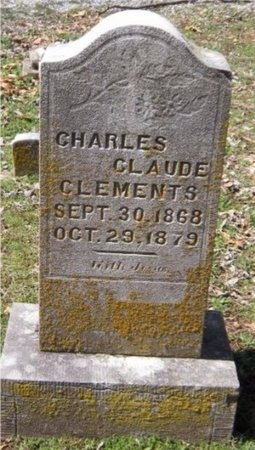 CLEMENTS, CHARLES CLAUDE - Jasper County, Missouri | CHARLES CLAUDE CLEMENTS - Missouri Gravestone Photos