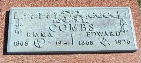 COMBS, EDWARDS - Jasper County, Missouri | EDWARDS COMBS - Missouri Gravestone Photos