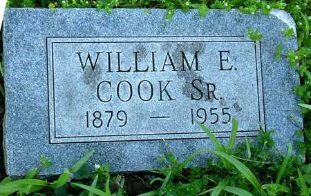 COOK, WILLIAM EDWARD SR - Jasper County, Missouri | WILLIAM EDWARD SR COOK - Missouri Gravestone Photos