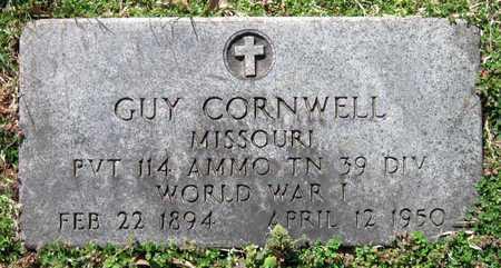 CORNWELL, GUY VETERAN WWI - Jasper County, Missouri | GUY VETERAN WWI CORNWELL - Missouri Gravestone Photos