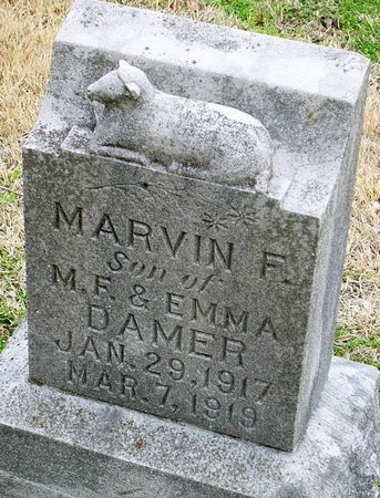 DAMER, MARVIN F. - Jasper County, Missouri | MARVIN F. DAMER - Missouri Gravestone Photos