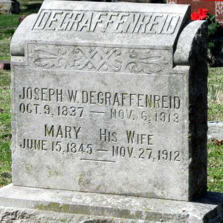 DEGRAFFENREID, JOSEPH W - Jasper County, Missouri | JOSEPH W DEGRAFFENREID - Missouri Gravestone Photos