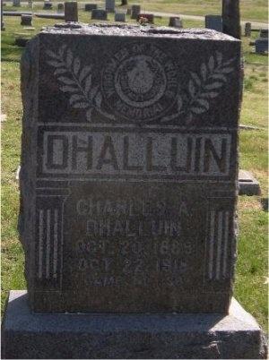 DHALLUIN, CHARLES A - Jasper County, Missouri   CHARLES A DHALLUIN - Missouri Gravestone Photos