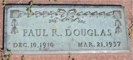 DOUGLAS, PAUL R - Jasper County, Missouri | PAUL R DOUGLAS - Missouri Gravestone Photos