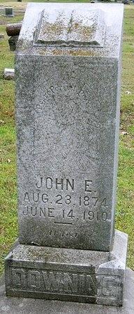 DOWNING, JOHN E. - Jasper County, Missouri | JOHN E. DOWNING - Missouri Gravestone Photos