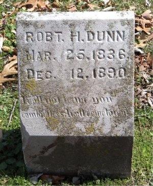 DUNN, ROBERT H - Jasper County, Missouri | ROBERT H DUNN - Missouri Gravestone Photos