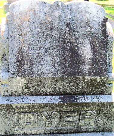 DYER, JOHN - Jasper County, Missouri | JOHN DYER - Missouri Gravestone Photos
