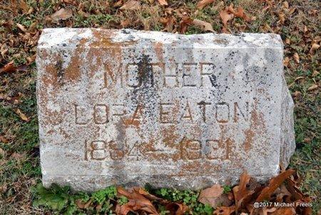 EATON, LORA - Jasper County, Missouri | LORA EATON - Missouri Gravestone Photos