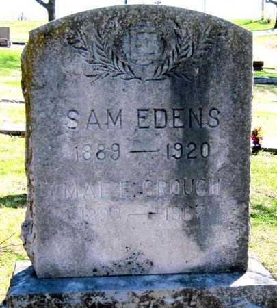 CROUCH EDENS, MARY E - Jasper County, Missouri   MARY E CROUCH EDENS - Missouri Gravestone Photos