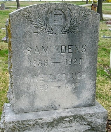 EDENS, SAM - Jasper County, Missouri | SAM EDENS - Missouri Gravestone Photos