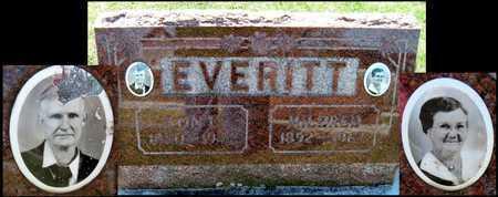 EVERITT, LON E - Jasper County, Missouri | LON E EVERITT - Missouri Gravestone Photos