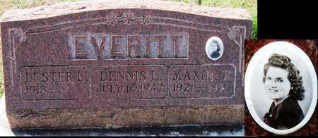 EVERITT, DENNIS L - Jasper County, Missouri   DENNIS L EVERITT - Missouri Gravestone Photos