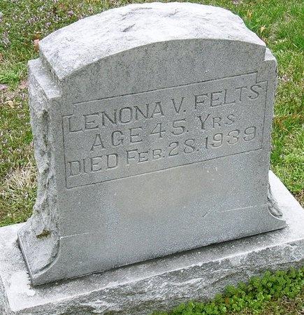FELTS, LEONA V. - Jasper County, Missouri | LEONA V. FELTS - Missouri Gravestone Photos