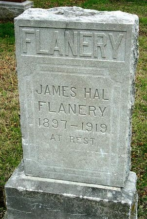 FLANERY, JAMES HALLECK - Jasper County, Missouri | JAMES HALLECK FLANERY - Missouri Gravestone Photos