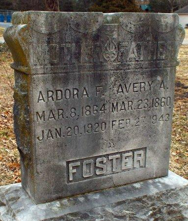 FOSTER, AVERY A - Jasper County, Missouri | AVERY A FOSTER - Missouri Gravestone Photos