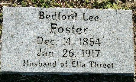 FOSTER, BEDFORD LEE - Jasper County, Missouri | BEDFORD LEE FOSTER - Missouri Gravestone Photos