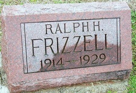 FRIZZELL, RALPH H. - Jasper County, Missouri | RALPH H. FRIZZELL - Missouri Gravestone Photos
