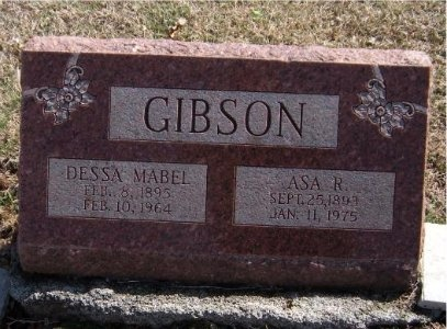 DWYER GIBSON, DESSA MABEL - Jasper County, Missouri | DESSA MABEL DWYER GIBSON - Missouri Gravestone Photos