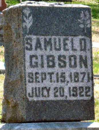 GIBSON, SAMUEL D - Jasper County, Missouri | SAMUEL D GIBSON - Missouri Gravestone Photos