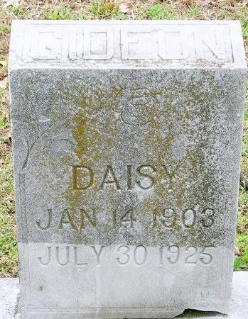 BAKER GIDEON, DAISY - Jasper County, Missouri | DAISY BAKER GIDEON - Missouri Gravestone Photos