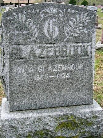 GLAZEBROOK, W.A. - Jasper County, Missouri   W.A. GLAZEBROOK - Missouri Gravestone Photos
