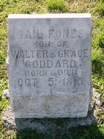 GODDARD, GAIL FONES - Jasper County, Missouri   GAIL FONES GODDARD - Missouri Gravestone Photos