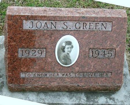 GREEN, JOAN S. - Jasper County, Missouri | JOAN S. GREEN - Missouri Gravestone Photos