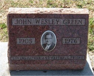 GREEN, JOHN WESLEY - Jasper County, Missouri | JOHN WESLEY GREEN - Missouri Gravestone Photos