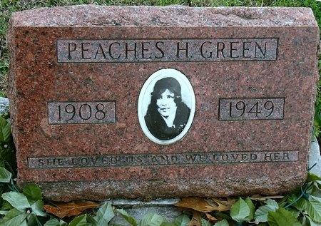 GREEN, PEACHES HULA - Jasper County, Missouri   PEACHES HULA GREEN - Missouri Gravestone Photos