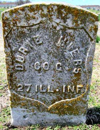 HIERS, DURIE VETERAN CW - Jasper County, Missouri | DURIE VETERAN CW HIERS - Missouri Gravestone Photos