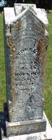 HOPKINS, STOKES A - Jasper County, Missouri   STOKES A HOPKINS - Missouri Gravestone Photos
